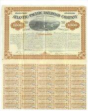 ATLANTIC AND PACIFIC RAILROAD COMPANY.........1880 MORTGAGE BOND