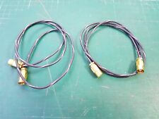 SMB To SMB Connector Cable Radio Frequency Coaxial SMB Cable EX MOD 75 Ohm