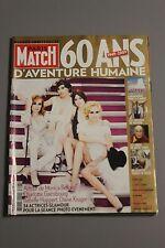 PARIS MATCH n° 3123 ANNIVERSAIRE 60 ans D'aventure humaine OBAMA Marissa Mayer