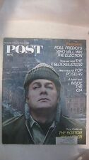 The Saturday Evening Post Magazine March 23rd 1968 Tony Curtis Boston strangler