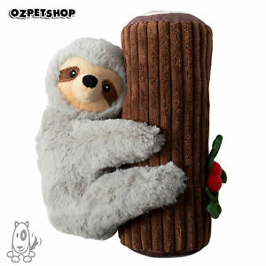 Christmas Holiday Yule Love This Sloth Squeaky Plush Dog Toy by Fringe Studios