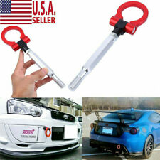Red Track Racing Style CNC Aluminum Tow Hook For 15-2017 Subaru WRX or STI