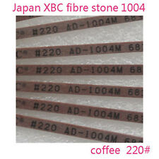 5 Pieces Polishing Ceramic Fibre Stone made in Japan 1004 Coffee 220# for lappin