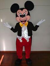 Disfraz( costume, botargas, mascot)HERMOSO MICKEY MOUSE DELUXE,traje para adulto