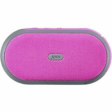 HMDX Jam Bluetooth Wireless Speaker w/ Integrated Stand, 6 Hrs Play Time, Pink
