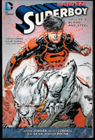 Superboy New 52 Vol 4: Blood & Steel by Jordan, Lobdell & Silva TPB 2014 DC N52