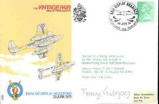 AD12 The Vintage Pair Air Display RAF flown Cover signed GREGORY