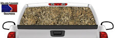 "Camo ""Grassland"" Pickup Truck Rear Window Graphic Decal Tint Hunter Outdoors"