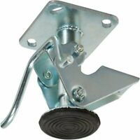 "Caster HQ - 5 Inch Floor Lock - FL50117 - 4"" x 4-1/2"" Top Plate - 6-3/4"" - 5-1/2"