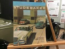 1957 Studebaker Original Sales Brochure