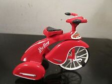MINIATURE RED SKY KING  TRICYCLE BRUNSWICK CORP. - MOVEABLE PARTS~