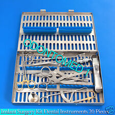 Implant Surgery Kit Dental Dentistry Surgical instruments Set of 20 piece DN-583