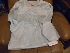 "Miss Elaine Comfy Satin Cuddleskin Nylon Nightgown Gown Lingerie 48"" NWT Vtg"