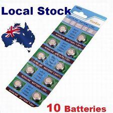 10x Pack LR44 1.5 Volt Alkaline Button Cell Battery AG13 A76 357 303 LR 44 sr44