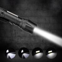20000LM XPE COB LED Flashlight Waterproof Handheld 4Modes Torch Pocket Work Lamp