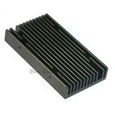 109x58x18mm Aluminum Alloy Heat Sink for 1W/3W/5W/10W LED Black