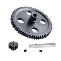 Upgrade Metall Differential Motor Gear Teil für WLtoys 1/12 12428 12423 RC Auto