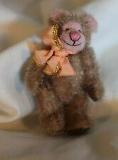 SB-005 Cynthia Powell Miniature Teddy Bear Jointed 2.0-inches tall