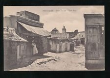 Morocco PETITJEAN Sidi-Kacem Une Rue c1900/20s? PPC