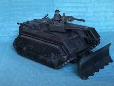 Chimera Tank Primed Black Astra Militarum Warhammer 40k (A43)
