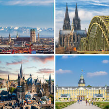 3 Tage Kurzurlaub für 2 Personen in München, Köln, Karlsruhe oder Aachen!