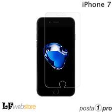 PELLICOLA IN VETRO TEMPERATO per IPHONE 7 - PROTEGGI DISPLAY ANTIURTO POSTA1