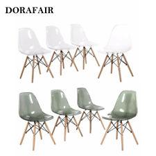 4er Set Stuhl Acryl Küchenstühle Wohnzimmerstuhl Transparent Esszimmerstühle Neu