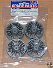 TAMIYA 51046 Medium-Narrow 18-Spoke Ruote (Offset 0) (TA05/TA06/TA07/TB02/TB03)