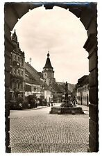 alte Postkarte Gengenbach Schwarzwald