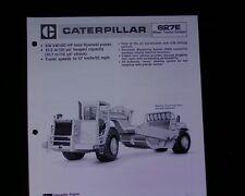 Caterpillar 627E  Scraper elevator SALES BROCHURE