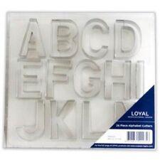 **LOYAL**   26 Large Piece Alphabet Cookie/Fondant Cutter Set!