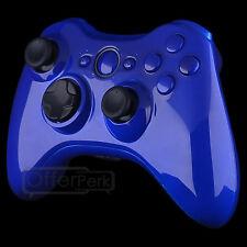 Custom Glossy Blue Full Housing For XBOX 360 Controller shell
