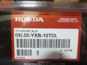 2002-2010 Honda Aquatrax Blue Tie Down Kit w/ Straps 09L00-YXB-10TDL OEM New