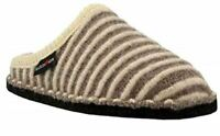 Haflinger Women's Cathy Boiled Wool Indoor Comfort Slipper - Tan/Natural
