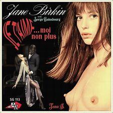 "7"" JANE BIRKIN Je t'aime..moi non plus DISC' AZ Sweden Nur Cover! (Only Sleeve)"