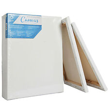 Painting Canvas Board Blank 11x14 Inch Stretched Artist Acrylic Primed Set of 5