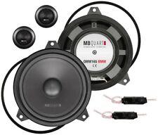 MB Quartz QM165 E46 Ajustement personnalisé composante 2 Voies Voiture Haut-parleurs pour BMW Série 3!!!