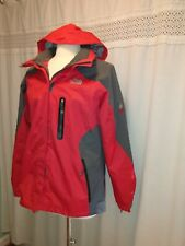 The North Face Xrt Gore-tex Summit Series Red Gray Winter Jacket Size Xl