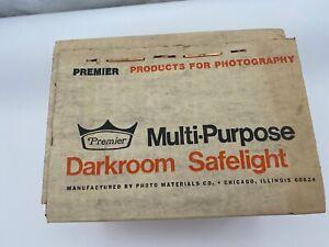 PREMIER MULTI-PURPOSE DARKROOM SAFELIGHT, MODEL 57, W/ 6' CORD & AMBER FILTER