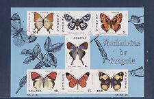 Angola  bloc  papillon   1981