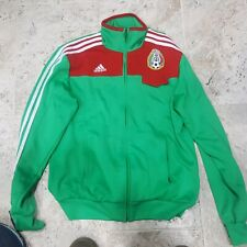 RARE 2007 ADIDAS MEXICO NATIONAL TEAM SOCCER JACKET MEN'S SIZE MEDIUM ONLY ONE!!