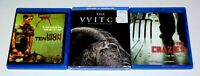 High Tension, The Witch (VVITCH) & The Crazies Bluray Horror Lot