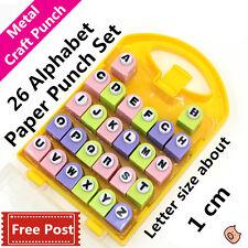 Alphabet letter metal die punch set for paper craft DIY scrapbook post card