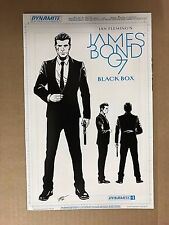 JAMES BOND 007 BLACK BOX #1 DESIGN VARIANT 1ST PRINT DYNAMITE (2016)