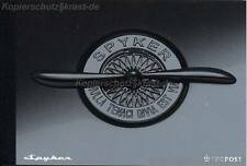 NIEDERLANDE - 2004 PRESTIGE MARKENHEFT 66 AUTO CAR SPYKER ** - MH 02/2004