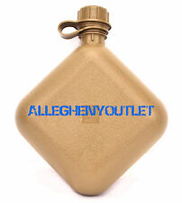 US Military 2 Quart QT Collapsible CANTEEN USMC Coyote BPA FREE MADE IN USA NEW
