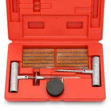 Tooluxe 50002L Universal Tire Repair Kit to Fix Punctures and Plug Flats