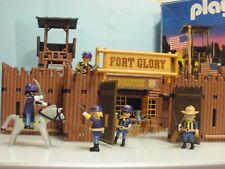 Playmobil Western Fort Glory del Oeste ref 3806 año 1994 Caja Original 3