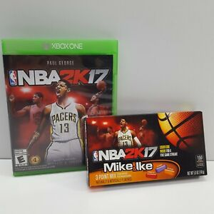 NBA 2K17 (XBOX ONE) WITH GENUINE CANDIES (LOOK DESCRIPTION) F1800