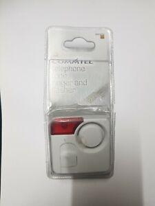 COMMTEL Telephone Tone Ringer & Flasher NEW